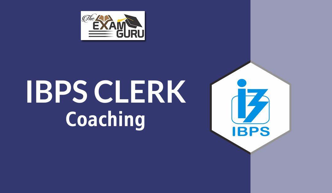 IBPS Clerk Coaching in Delhi