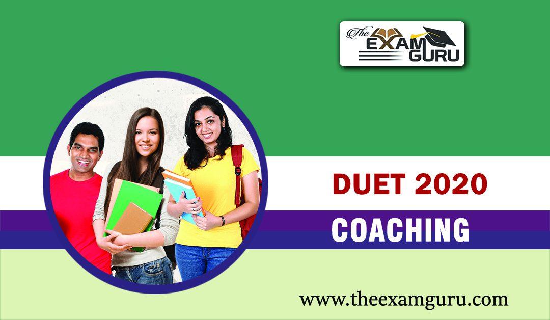 Best DUET Coaching in Delhi