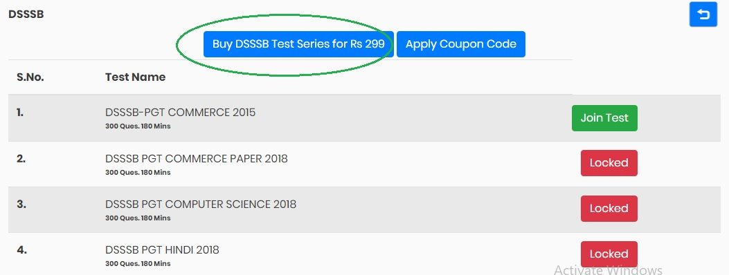 Buy Test Now