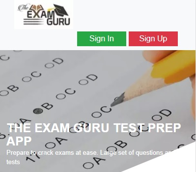 Test Prep App Login